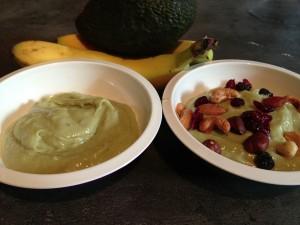 Avocado met yoghurt