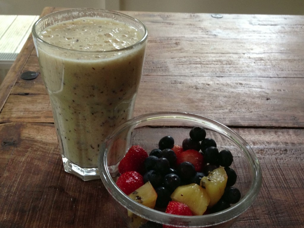 Smoothie met fruit
