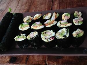 Sushi zonder rijst